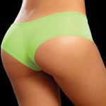 3021 Neon Green Back