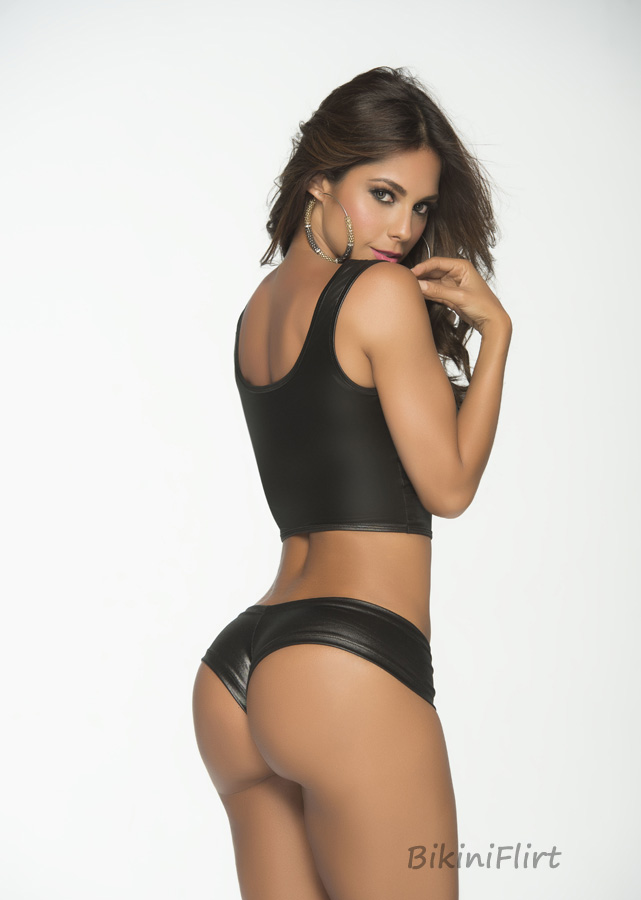 Staged bikini bottoms sale with the